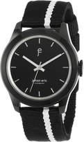 Johan Eric Men's JE1400-13-007 Naestved Striped Canvas Watch