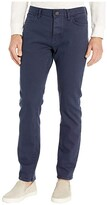 Tommy Hilfiger Adaptive Jeans Straight Adjustable Waist Magnet Buttons (Midnight) Men's Jeans