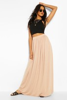 boohoo Floor Sweeping Jersey Maxi Skirt