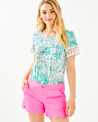 """Lilly Pulitzer 5"""" Buttercup Stretch Short"""