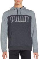 Puma Long Sleeve Ribbed Hoodie