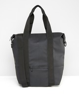 Rains City Bag In Black