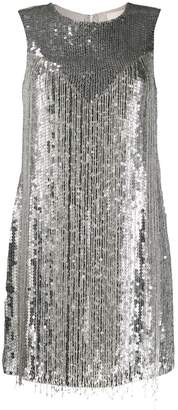 Aniye By sequin fringe dress