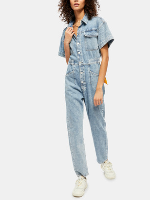 Free People Marci Coverall Jumpsuit