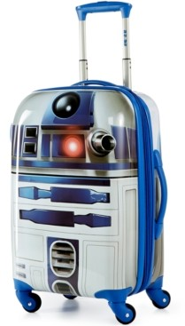 """American Tourister Star Wars R2D2 21"""" Hardside Spinner Suitcase"""