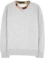Moncler Grey Cotton Sweatshirt