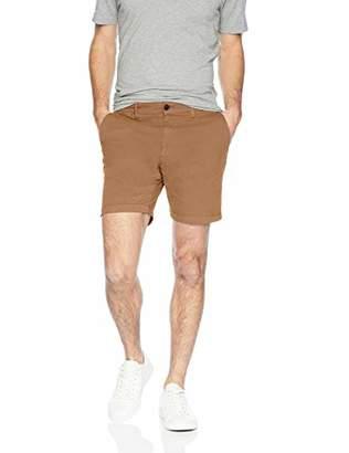 "Goodthreads Men's 7"" Inseam Flat-Front Stretch Chino Shorts"
