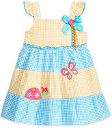 Good Lad Appliqué Seersucker Dress, Little Girls (2-6X)