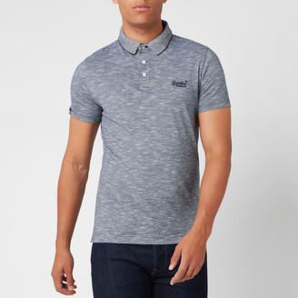 Superdry Men's Orange Label Jersey Polo Shirt