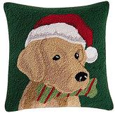 C & F Enterprises Yellow Labrador Hooked Canvas Pillow