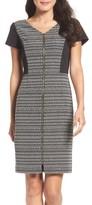 Ellen Tracy Women's Tweed & Ponte Sheath Dress