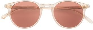 Garrett Leight Marian round-frame sunglasses