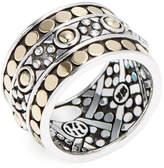 John Hardy Women's Jaisalmer Dot Gold & Silver Band Ring