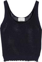 3.1 Phillip Lim Open-knit wool-blend tank
