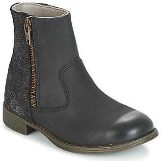 Kickers ROX girls's Mid Boots in Black