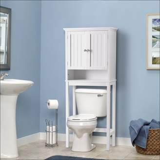 URBAN RESEARCH Os Home & Office Furniture OS Home and Office Furniture Bathroom Space Saver over toilet Storage Cabinet with two