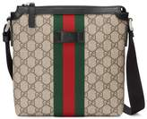 Gucci Techno canvas messenger with Web