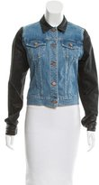 J Brand Denim Textured Jacket