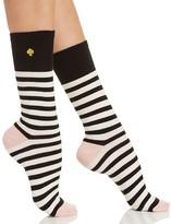 Kate Spade Saturday Stripe Crew Socks
