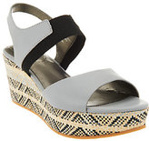 Me Too Leather Gored Wedges w/ Printed Bottom - Cara