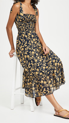 Lost + Wander Tea In Versailles Maxi Dress