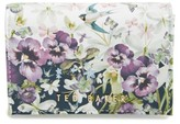 Ted Baker Women's Entangled Enchantment Leather Wallet - Blue