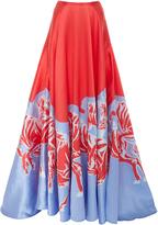 Carolina Herrera Printed Ball Skirt