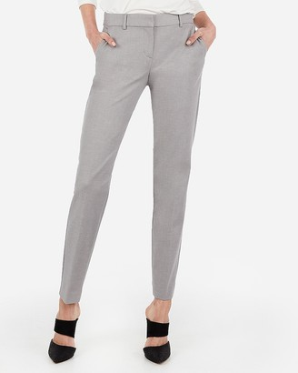Express Mid Rise Columnist Ankle Pant