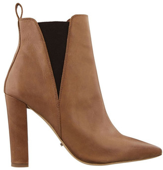Tony Bianco Locky Caramel Diesel Choc Wax Ankle Boot