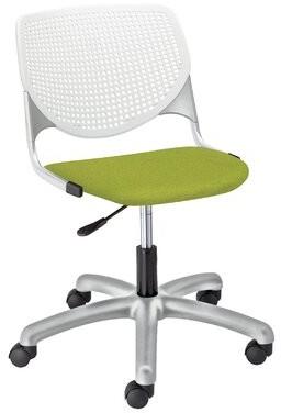 KFI Studios Kool Poly Task Chair Upholstery Color: Avocado