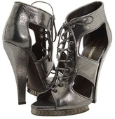 Roberto Cavalli Laced Up Stiletto Sandal (Canna Fucile) - Footwear
