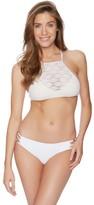 Ella Moss Solid Side Strap Bikini Bottom