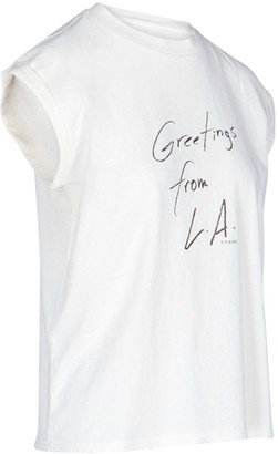 Frame Front Print T-shirt