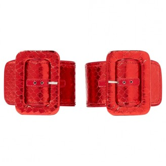 ATTICO Metallic Exotic leathers Bracelets