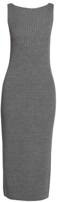 Dries Van Noten Sleeveless Knit Midi Dress