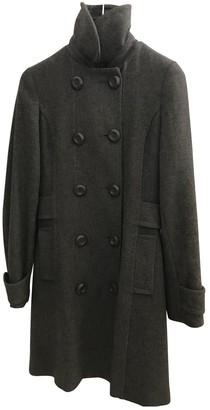 Non Signã© / Unsigned Grey Wool Coats