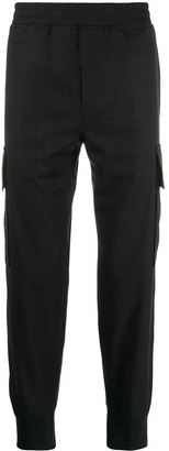 Neil Barrett Elasticated Tapered Trousers