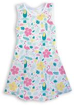 Urban Smalls Tropical Twist Tank Dress - Toddler & Girls