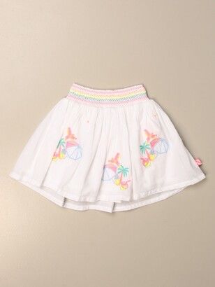 Billieblush Wide Skirt With Embroidery