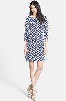 Lilly Pulitzer 'Charlene' Bird Print French Terry Shift Dress