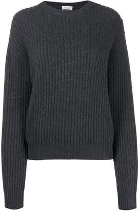Brunello Cucinelli classic long-sleeve sweater
