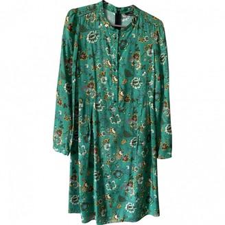 SET Green Cotton Dress for Women