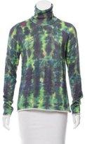 Lucien Pellat-Finet Rolled-Edge Turtleneck Sweater