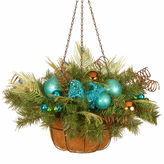 NATIONAL TREE CO National Tree Co. Peacock Hanging Basket