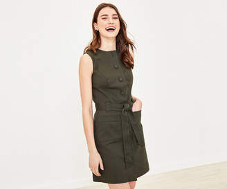 Oasis Button Shift Dress