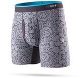Stance Men's Tile Check Boxer Brief - Grey