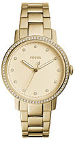 Fossil Dress Neely Studded Stainless Steel Bracelet Watch