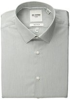 Ben Sherman Men's Slim Fit Fineline Stripe Spread Collar Dress Shirt