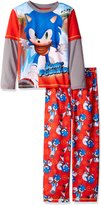 Sonic The Hedgehog Sonic Big Boys' 2pc Sleepwear Set