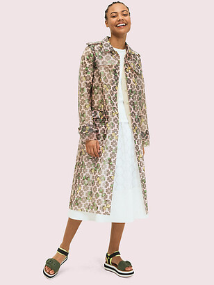 Kate Spade Spade Cherry Translucent Coat